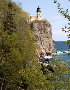 Split Rock Lighthouse (traditional postcard view)