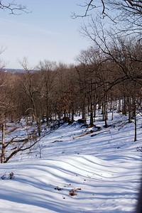 Snow scene, Lone Elk Park
