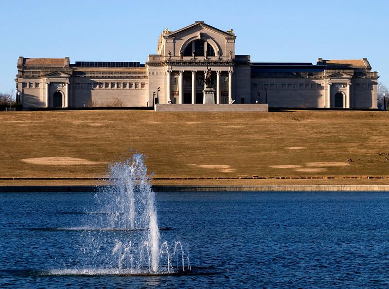 Art Museum, Forest Park, St. Louis, MO