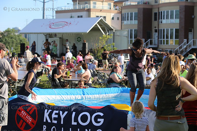 RiverFest - Key Log Rolling