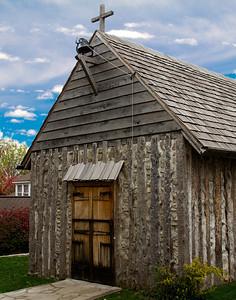 1791 Borromeo Log Church