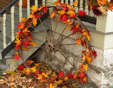 Decorated wheel