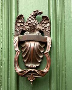 Eagle door knocker