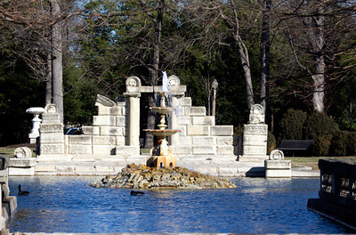Fountain Pond, Tower Grove Park