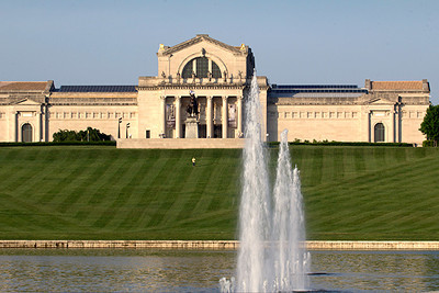 Art Museum and Art Hill, Forest Park, St. Louis, MO