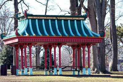 Chinese Pavilion, Tower Grove Park