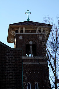 Bell tower, Immaculate Conception Catholic Church, Maplewood