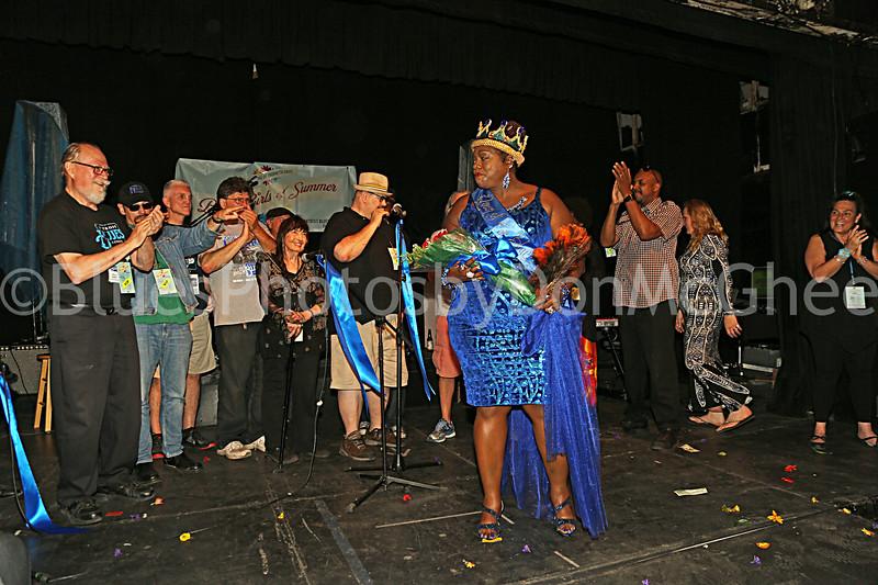 Wolfgang Spider, George Seedorff, Tom McNab, Steve Soviak, JoAnn K, RJ Spangler, Thornetta Davis - newly crowned Detroit's Queen of the Blues, Aaron Tinsley, Nikki James