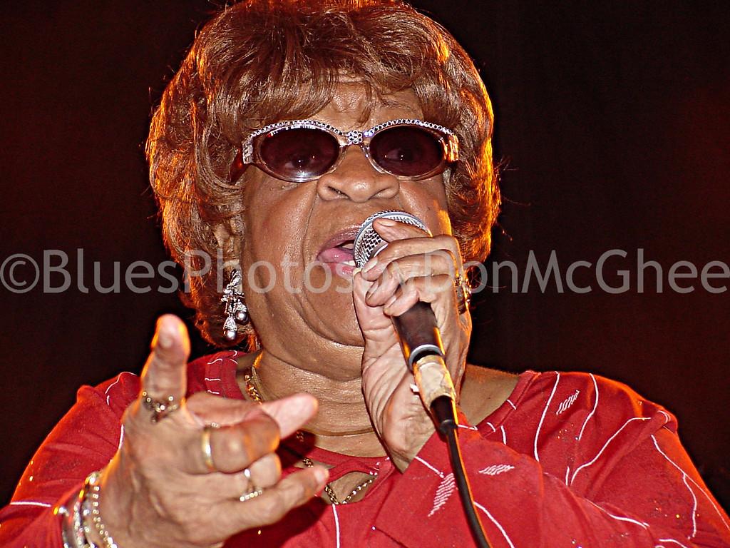 Alberta Adams<br /> King Biscuit Blues Festival 2002