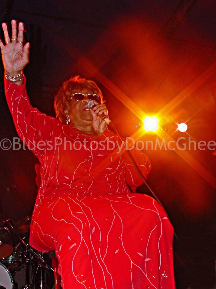 Alberta Adams - King Biscuit Blues Festival - 2002