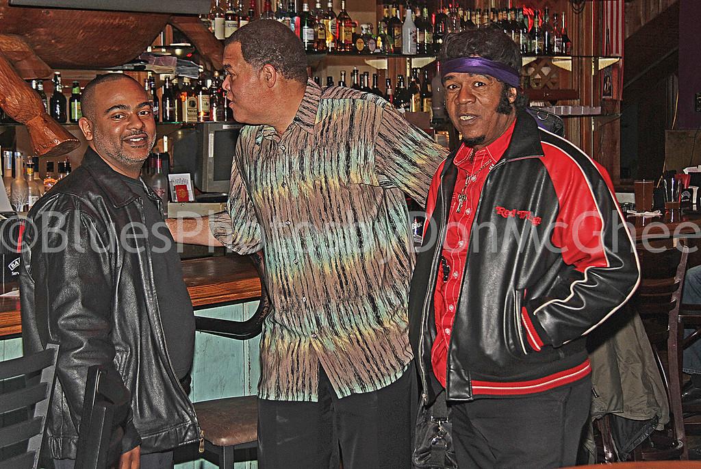 "Rodney Guyton, Luther ""Badman"" Keith, Billy Davis"