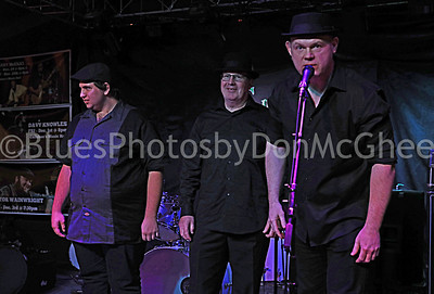 Big B and the Actual Proof  - Winners of the Detroit Blues Society band challenge