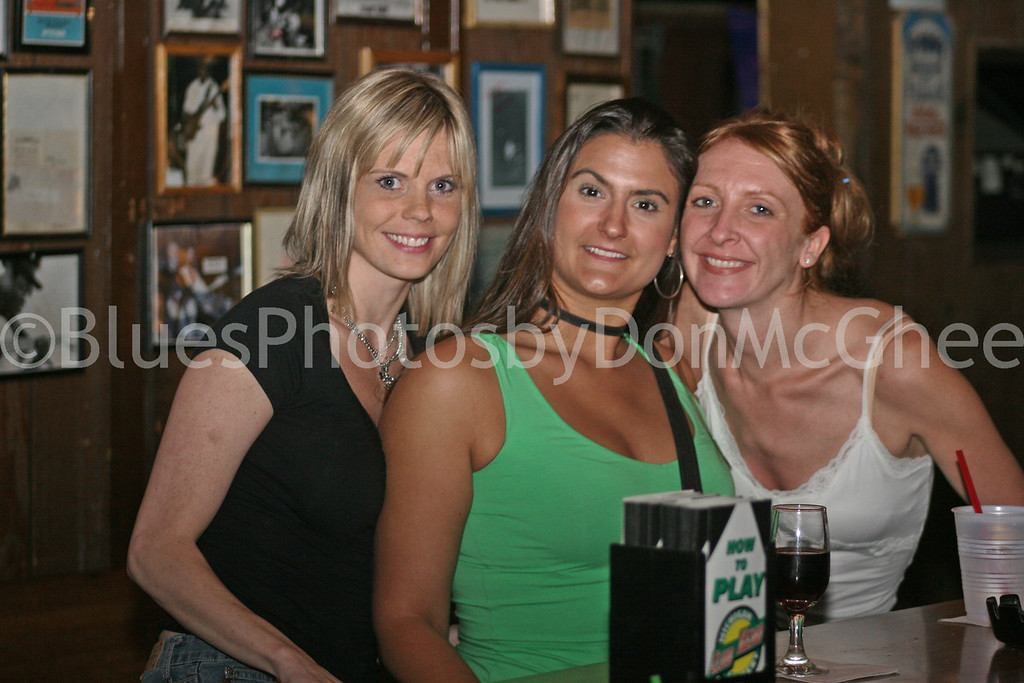 Attic waitress and friends 2005