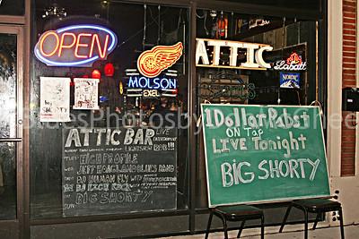 Attic Bar exterior 2007