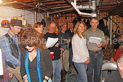 Jere Stormer, Diane Westin, Rachelle Gianola, Ken Lehto, Jamie Shultz, Brian Chesley, Amy Joss, Mario Kennedy and Bill Oppenheim (seated)