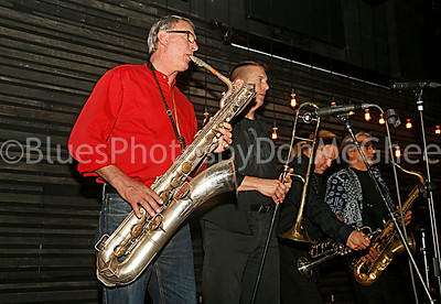 The Luddites horn section