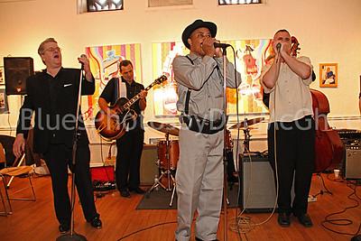 Garfield Angove, Doug Deming, Harmonica Shah, Dave Morris