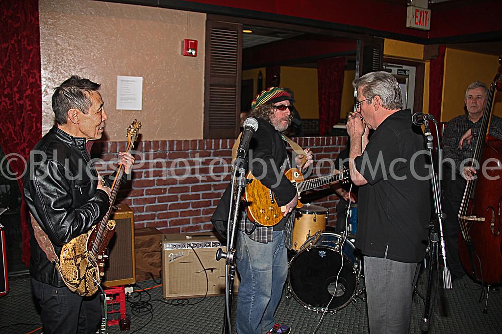 Bobby Murray,Jeff Grand, Garfield Angove, Bob Conner