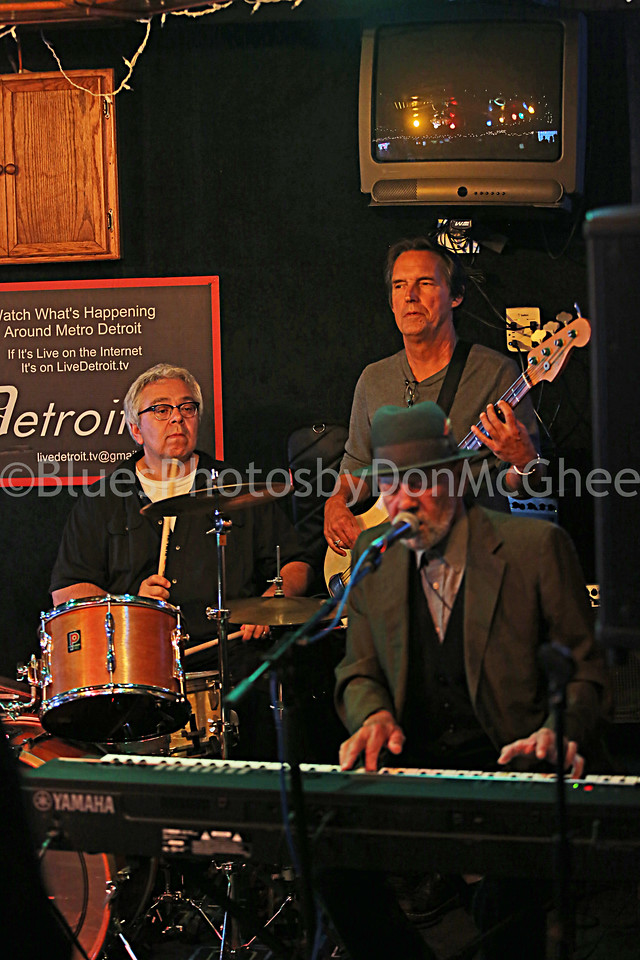 Ron Pangborn, Mike Marshall, Leonard Moon.