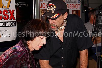 "Jo Ann Korczynski, Gary ""Shadowhawk"" Ellis"