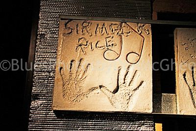 Sir Mack RIce handprint block