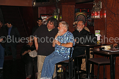 Willie Wilson, Vic Doucette, Wolfgang Spider (Alberta Adams in background) New Dodge Lounge 2009