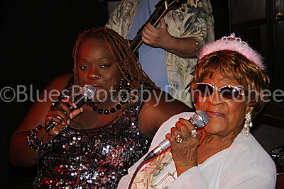 Thornetta Davis, Alberta Adams Alberta's 93 birthday party Dylan's Raw Bar 2010