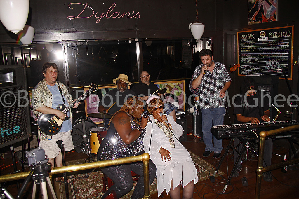 Alberta Adams & friends - celebrate her 93rd birthday<br /> Dylans Raw Bar 2010