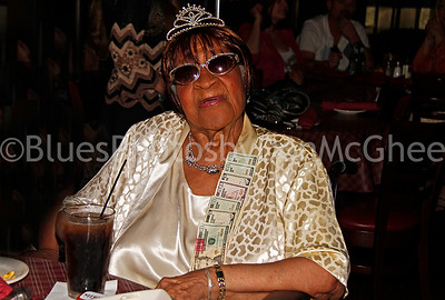 Alberta Adams at 95th birthday party Dylans Raw Bar 2012