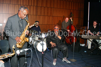 "George ""Sax"" Benson, RJ Spangler, Alberta Adams, Kurt Krahnke, Shawn McDonald Jazz & Blues @ the Southfield Library 2005"