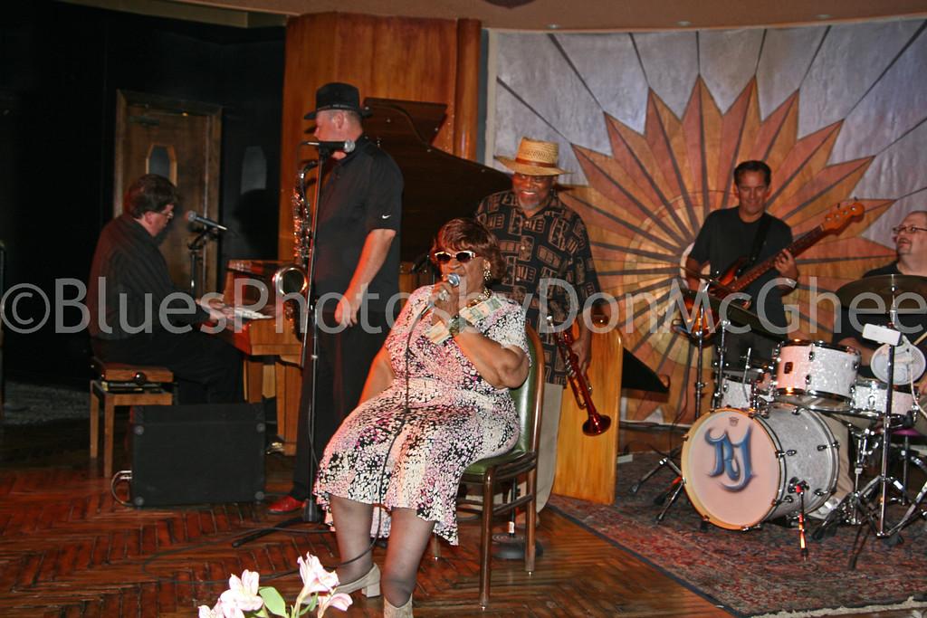 Alberta & friends celebrate her 91st birthday<br /> Cliff Bell's 2008