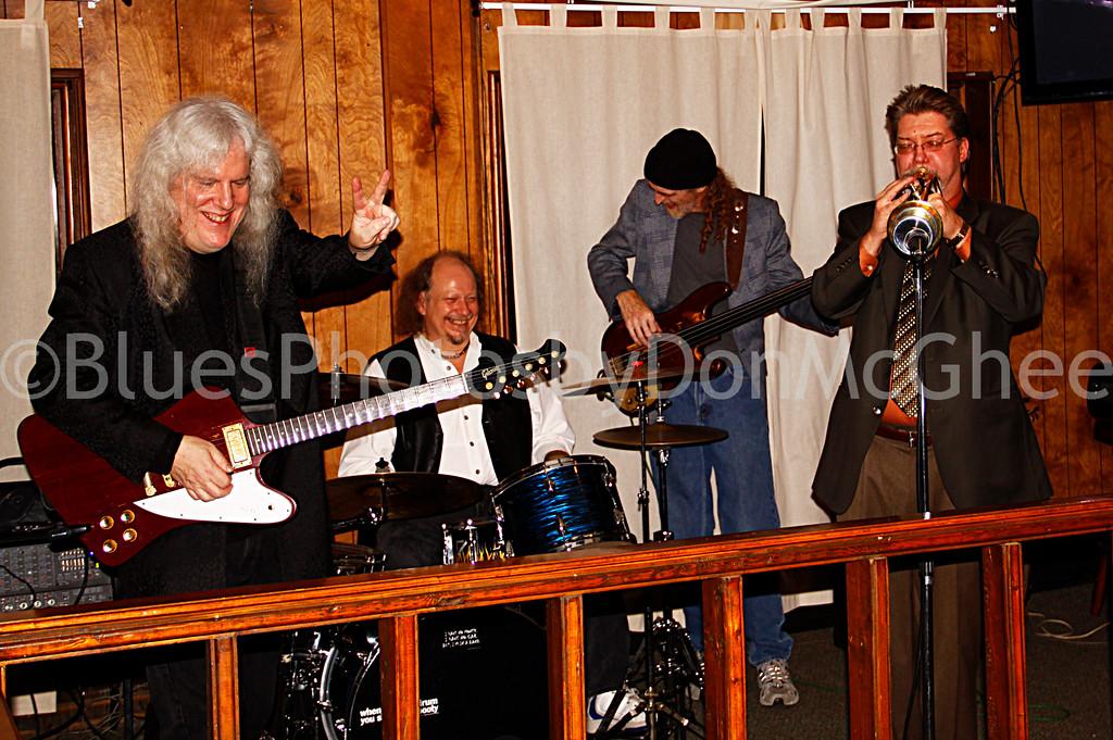 "Howard Glazer, Stephen ""Bam Bam"" Kohn, Bob Godwin, Dave Kocbus"