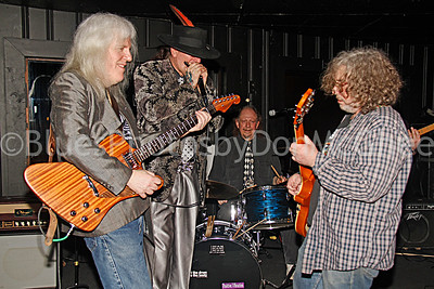 """Howard Glazer, Dale Robertson, Stephen """"Bam Bam"""" Kohn, Jeff Grand"""