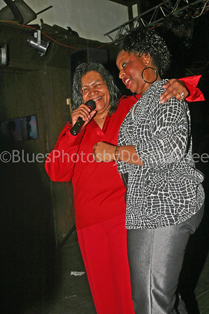 """Sweet Claudette"" & friend 2005"