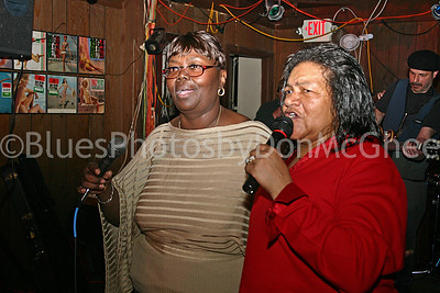 """Sweet Claudette"" Harrell-Manning & friend 2005"