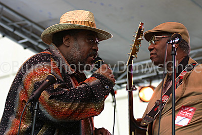 "Terry ""Thunder"" Hughley, Johnnie Bassett Detroit Jazz Fest 2006"