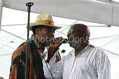 "Terry ""Thunder"" Hughley, Charles ""Buddy"" Smith Detroit Jazz Fest 2006"