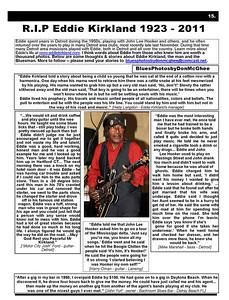 April 2011 R.I.P. Eddie Kirkland 1923-2011