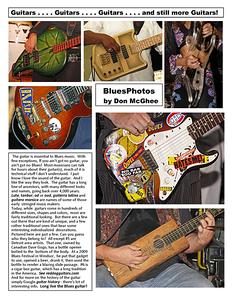 January 2013 Guitars...Guitars...Guitars ...and still more Guitars!