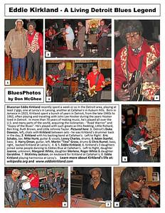 January 2011 Eddie Kirkland - A Living Detroit Blues Legend