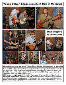 April 2014 Young Detroit Bands Represent DBS in Memphis