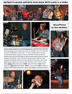 December 2010 Detroit's Blues Artists Give Back With Love & A Song