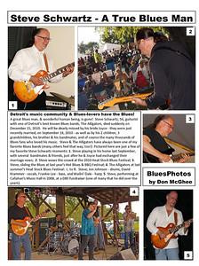 February 2011 Steve Schwartz - A True Blues Man