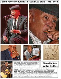 "February 2013 Eddie ""Guitar"" Burns: a Detroit Blues Giant - 1935-2012"