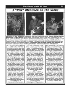 """May 2011  3 """"New"""" Bluesmen on the Scene"""