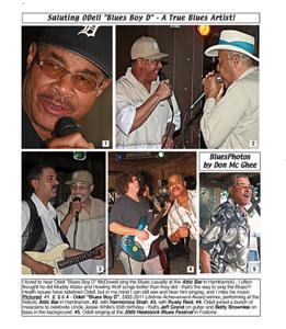 """July 2013_1 Saluting ODell """"Blues Boy D"""" - A True Blues Artist"""
