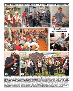 June 2015 DBS Tribute to Eddie Burns - A Great Detroit Bluesman! [2]