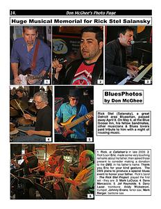 June 2014 (2) Huge Musical Memorial for Rick Stel Salansky