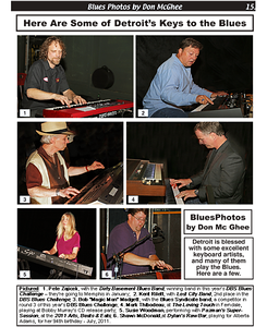 December 2013 Here Are Some of Detroit's Keys to the Blues