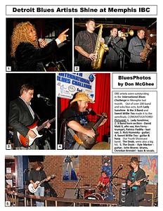 March 2013 Detroit Blues Artists Shine at Memphis IBC